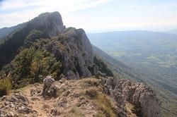 Le Mont du Chat et son relais TV
