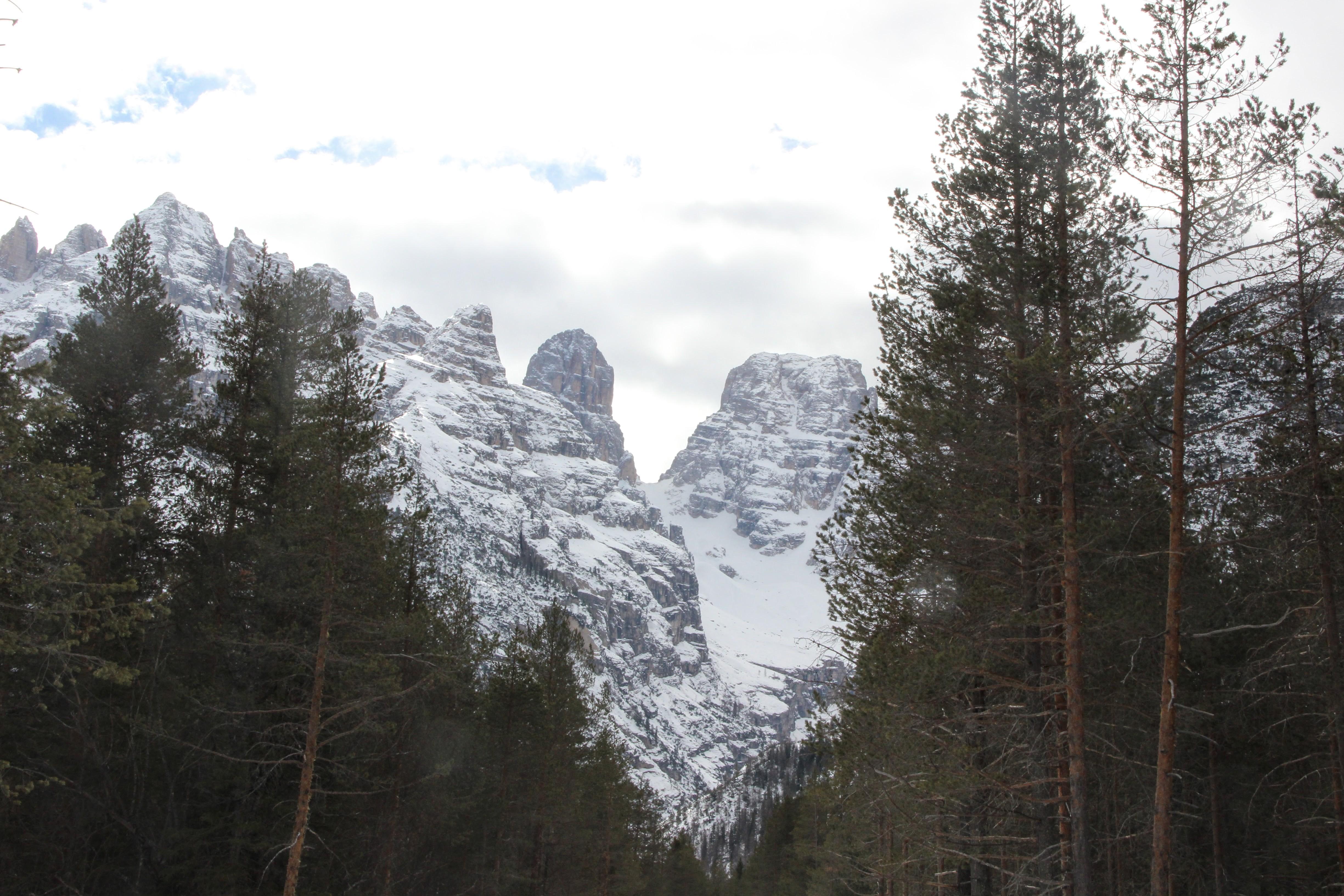 Le Monte Cristallo (3216 m)