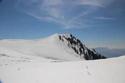 Le sommet depuis la petite Galoppaz
