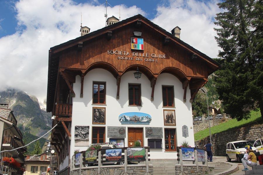La maison des Guides de Courmayeur