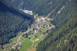 Le village de Trient