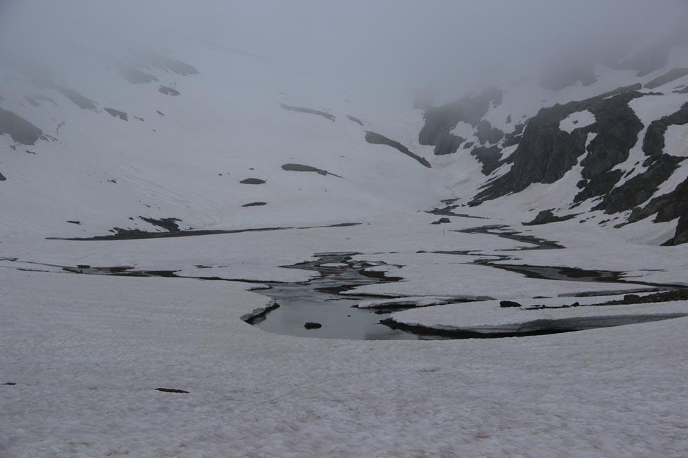 Le lac Tournant