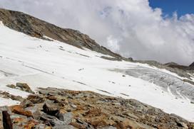 Traversée du glacier Indren