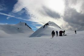 Au col du Lys (4255 m)