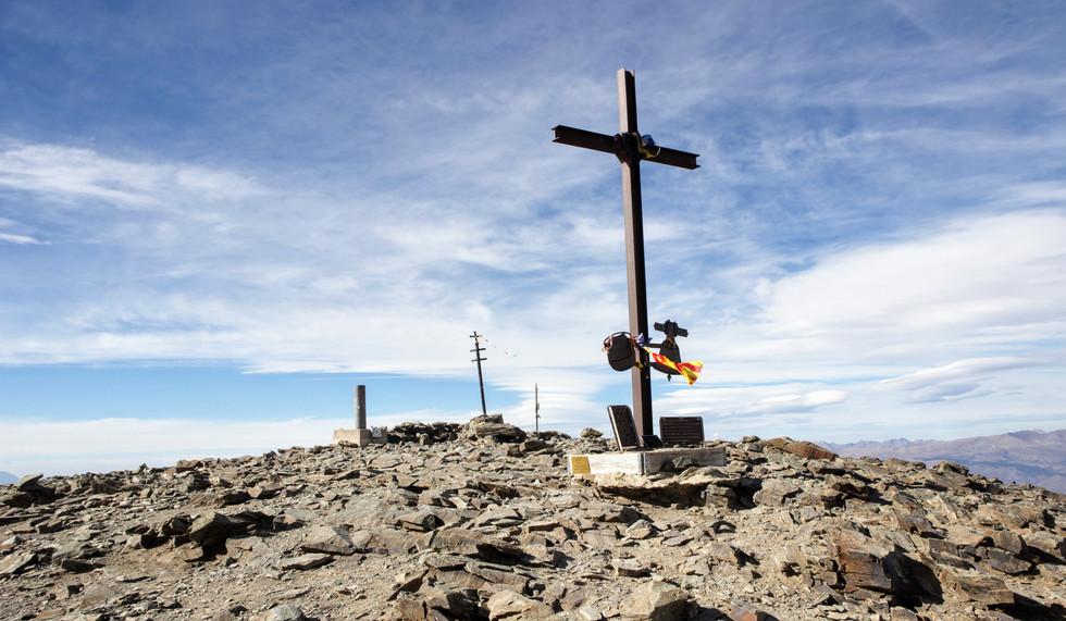 Le sommet du Puigmal