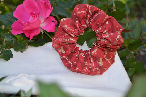 Red Christmas Scrunchie