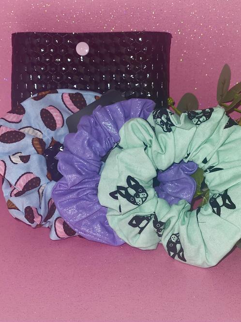 Three Scrunchie Bundle