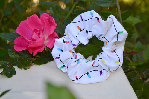 Christmas lights Scrunchie