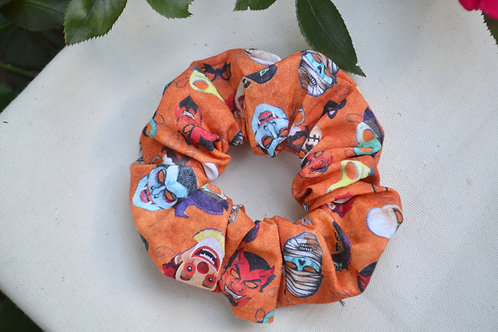 Clown Face Scrunchie