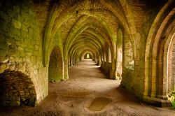 Fountains Abbey - HDR Image