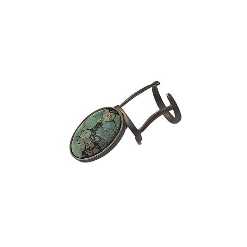INTO NIILO | Anel de Unha Turquoise|2 Oval