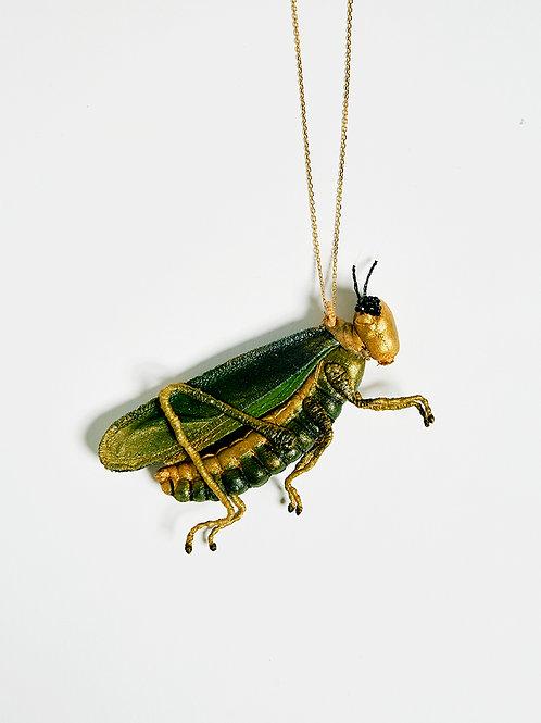 "NATALIA LUBIENIECKA, Colar ""Grasshoper"""