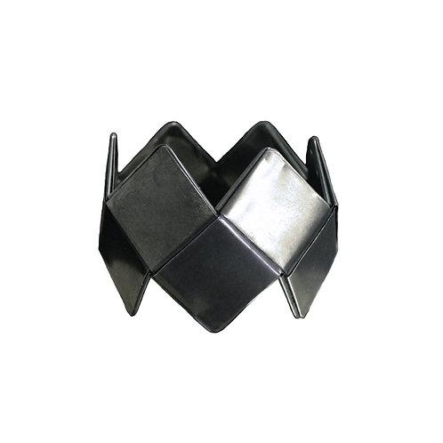 """PERNILLA QVIST - Bracelete """"Carbon City"""""""