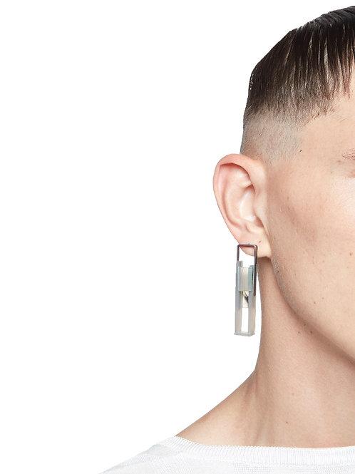 "JULIA OBERMAIER  Brincos/Earrings ""Getting!close(d)"""