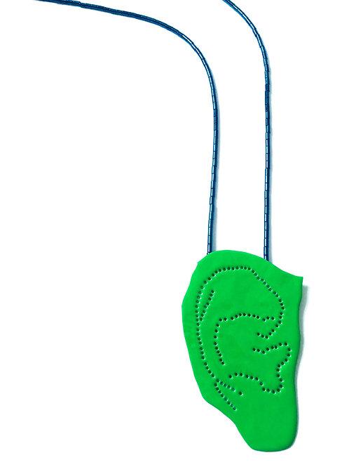 """PETRA MOHYLOVA - Colar """"Green Ear"""""""