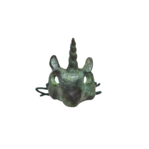 ÁUREA PRAGA | Anel The Unicorn Mask