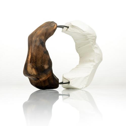 HARA KOURTALI | Bracelete Two Halves