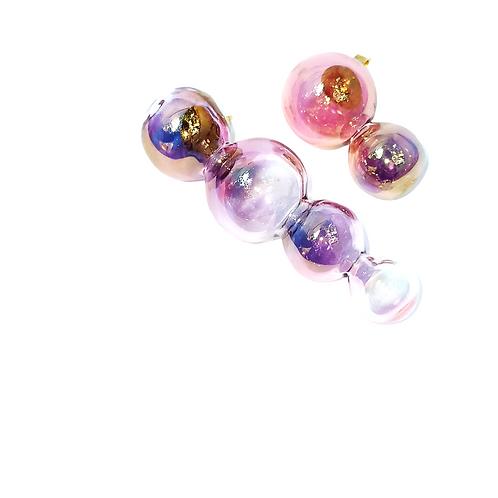 AGUSTINA ROS | Brincos Iridescent Bubbles