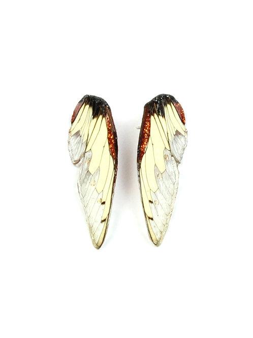 "MÄRTA MATTSON - Brincos ""Wings"""