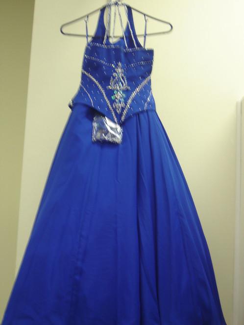 Unique fashion pageant dress uf