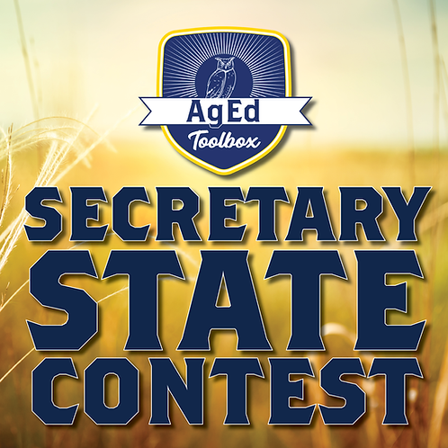 State FFA Secretary Contest