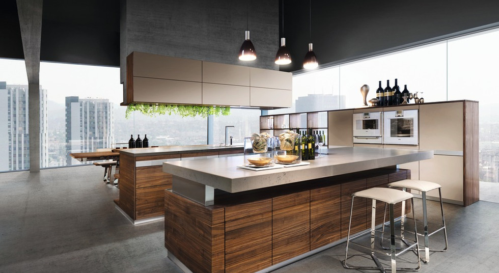 Solid wood kitchen from Team 7