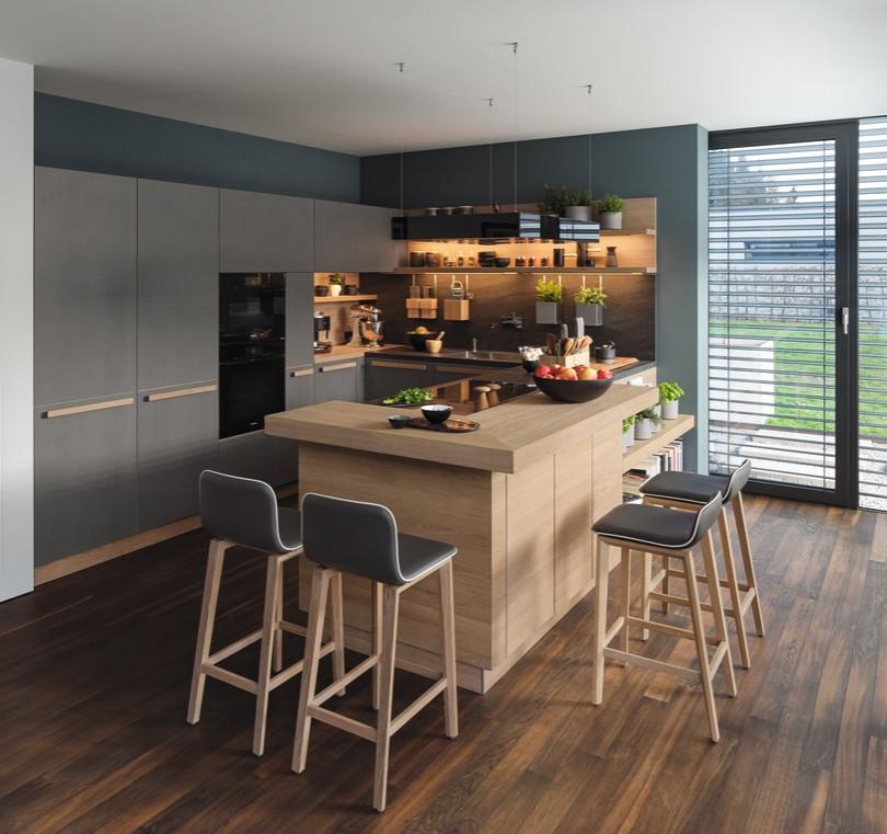 Kuchyně z masivního dřeva od výrobce Team 7