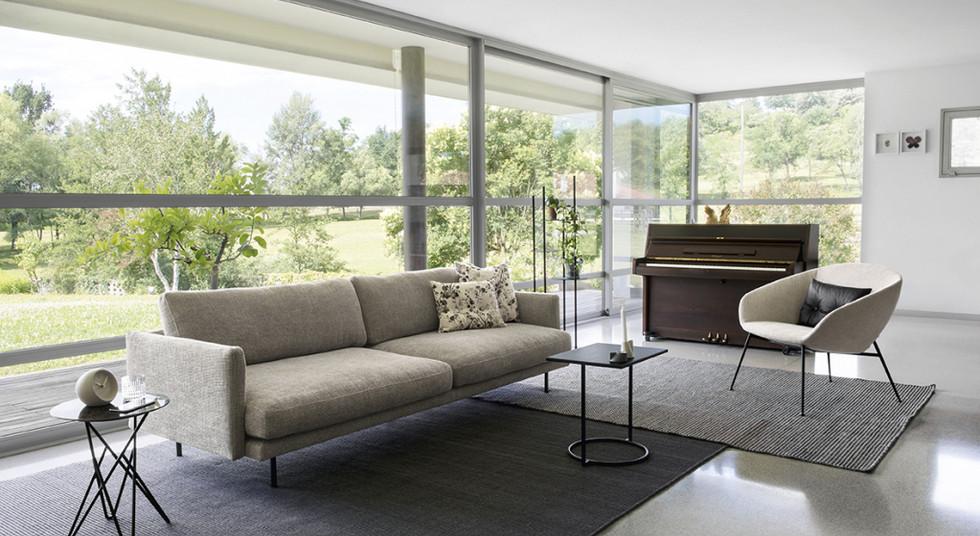 Designer sofa from the Caligaris brand