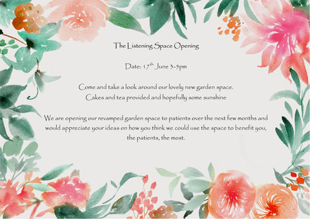 The Listening Space Opening