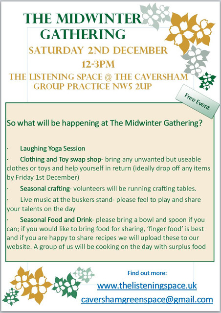 The Midwinter Gathering - Saturday 2nd December