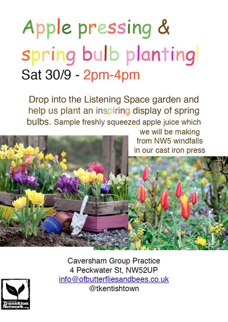 Spring bulb planting & Apple pressing