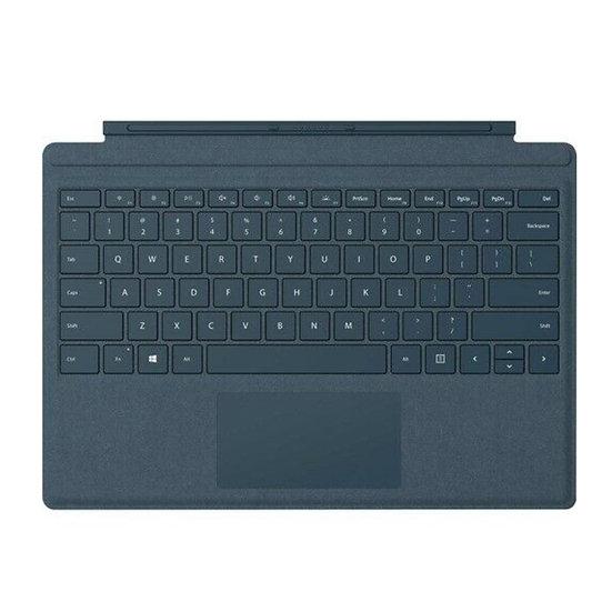 Microsoft Signature Type Cover Keyboard Cobalt Blue