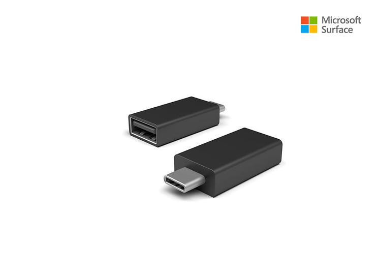 Microsoft Surface USB Type-C to USB Type-A Adapter Surface Pro 7, surface Go
