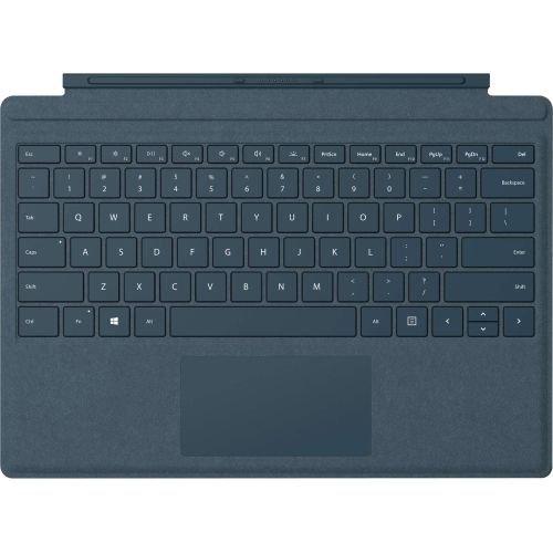 Teclado Microsoft surface Pro  color azul cobalt Alcántara