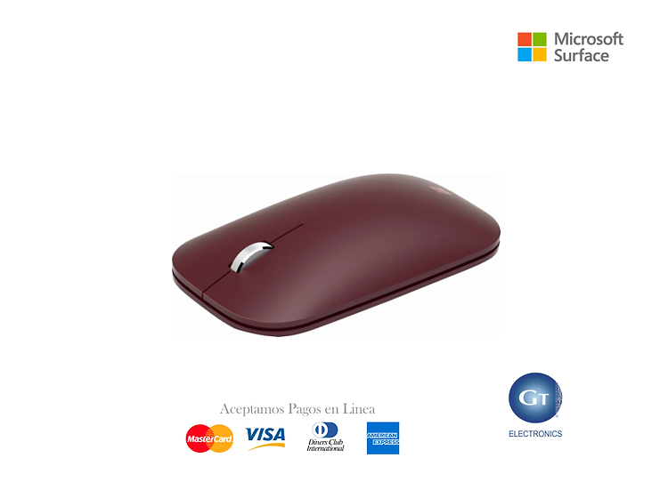 Microsoft Surface Mobile Mouse (Burgundy)
