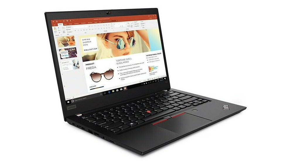 "Lenovo ThinkPad T495 20NJ0004US 14"" Touchscreen Ryzen 5 PRO 3500U 8GB 256GB SSD"