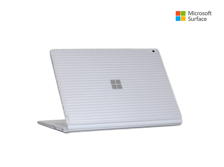 Case Microsoft surface book 13.5 / color Transparente