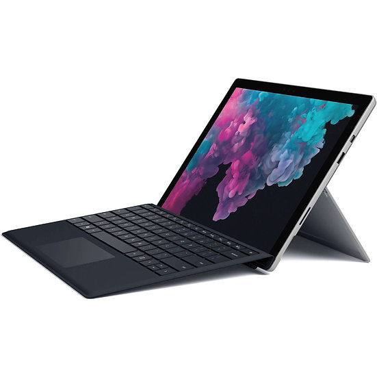 "Microsoft Surface Pro 6 12.3"" Intel Core i7 16GB RAM 512GB Platinum + Teclado"