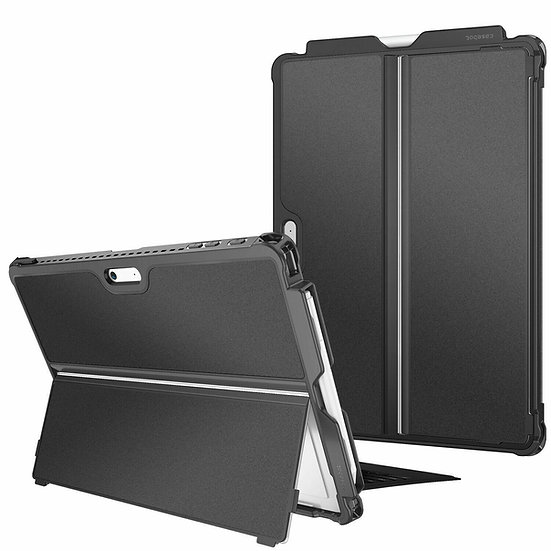 Case Microsoft Surface Pro  Black Shockproof  Rugged