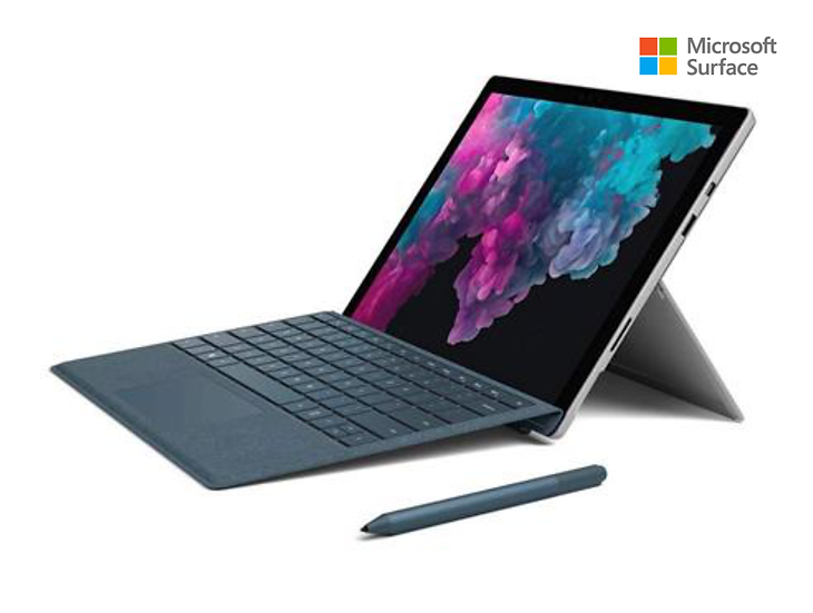 Microsoft Surface Pro 6 intel i7 8th - Platinum - 8GB - 256GB + Keyboard Alcanta