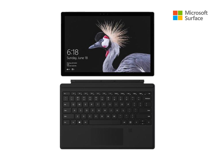 "Microsoft Surface Pro 12.3 "" / Intel M3 / 4GB/128GB  + Teclado Wireless"