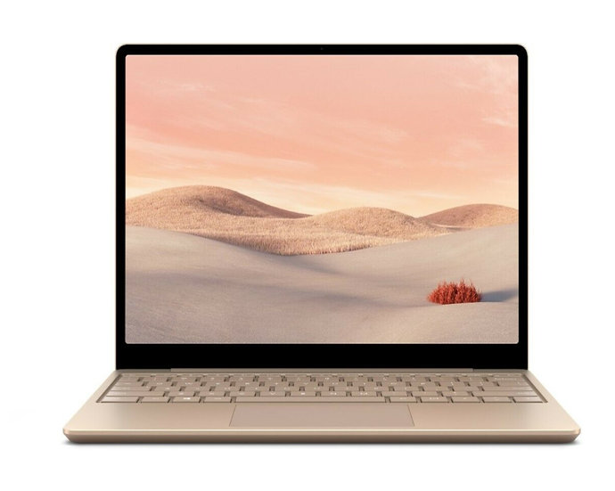 Microsoft Surface Laptop Go 12.4 Intel Core  i5 8GB RAM 128GB  Sandstone Windows