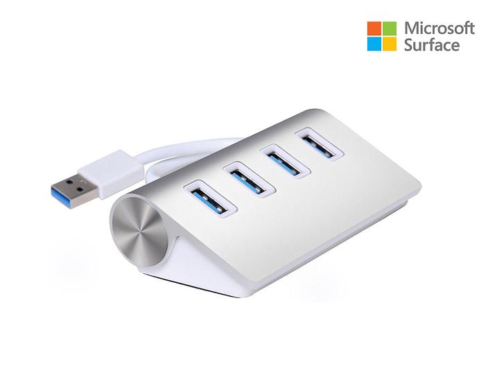 Hub  Aluminum USB 3.0 Microsoft Surface pro 2017