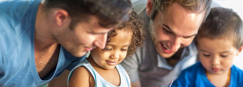 Same-sex foster parents and children