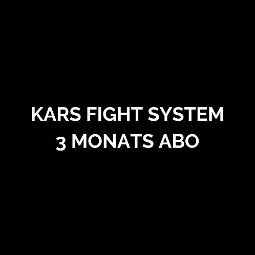 KARS Fight System 3 Monats-Abo