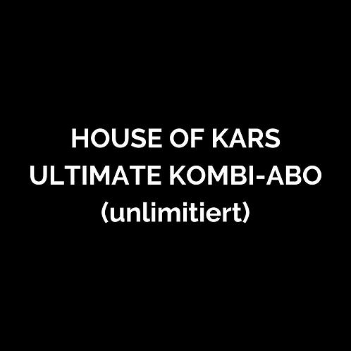 HOUSE OF KARS Ultimate-Kombi-Abo 1 Jahr (Fight System & BOMIEN))