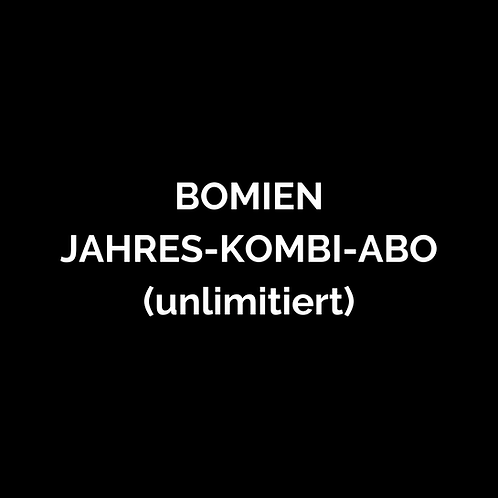 BOMIEN Jahres-Kombi-Abo 1 Jahr (Qi Gong, Yoga, Mediation)
