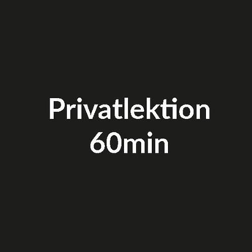 Privatlektion 60min