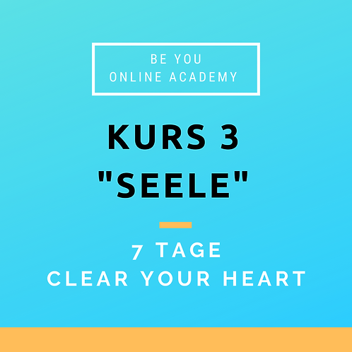 "Kurs 3 ""Seele"" 