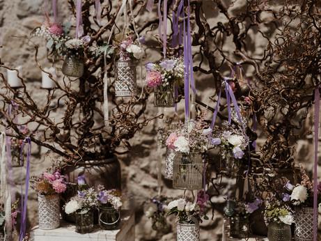 Hochzeit - Dekoration Trauung